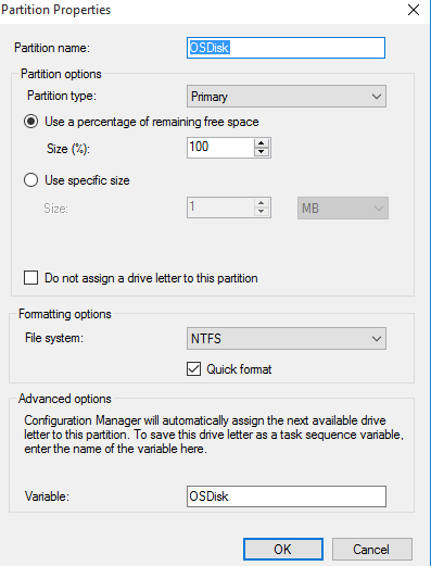 Windows 10 Task Sequence – BitLocker with MBAM Steps (HP+