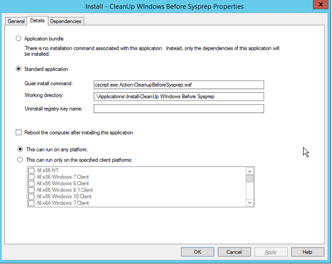 Building a Clean Windows 10 Reference Image – MDT 2013 U1 – Exec Mgr
