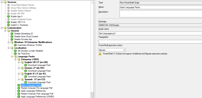 Installing Language Packs – Windows 10 (WaaS) – Exec|Mgr